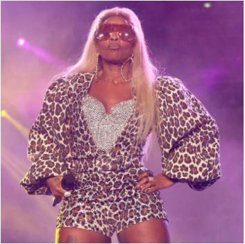 Mary J. Blige fejrer sin 50-års fødselsdag med en stjernespækket virtuel fest
