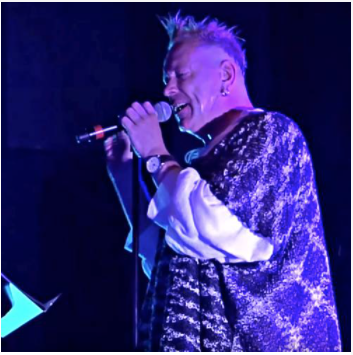 Johnny Rotten nød sin tid som fodboldhooligan